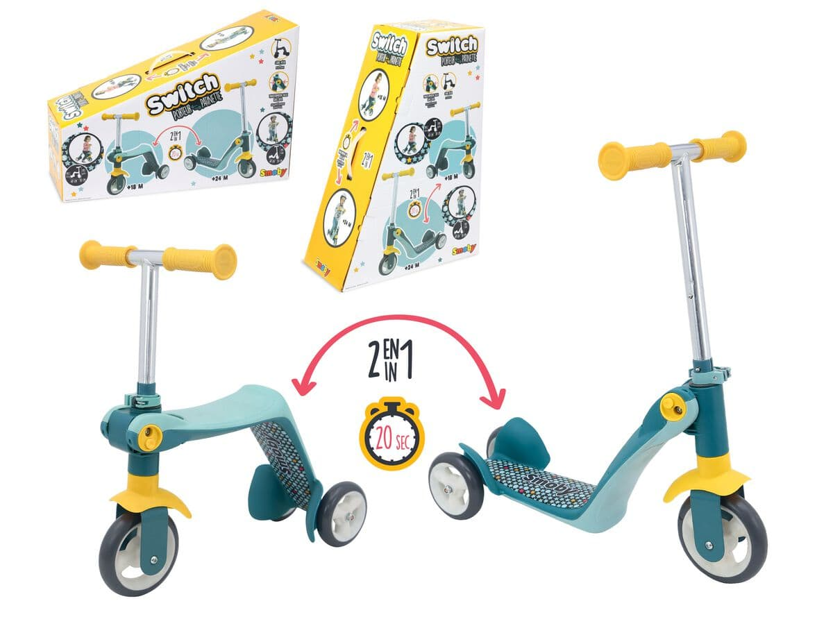 Smoby Reversible Scooter Attrezzatura sportiva