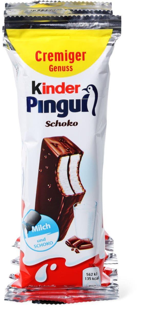 Kinder Pingui Chocolat avec du lait