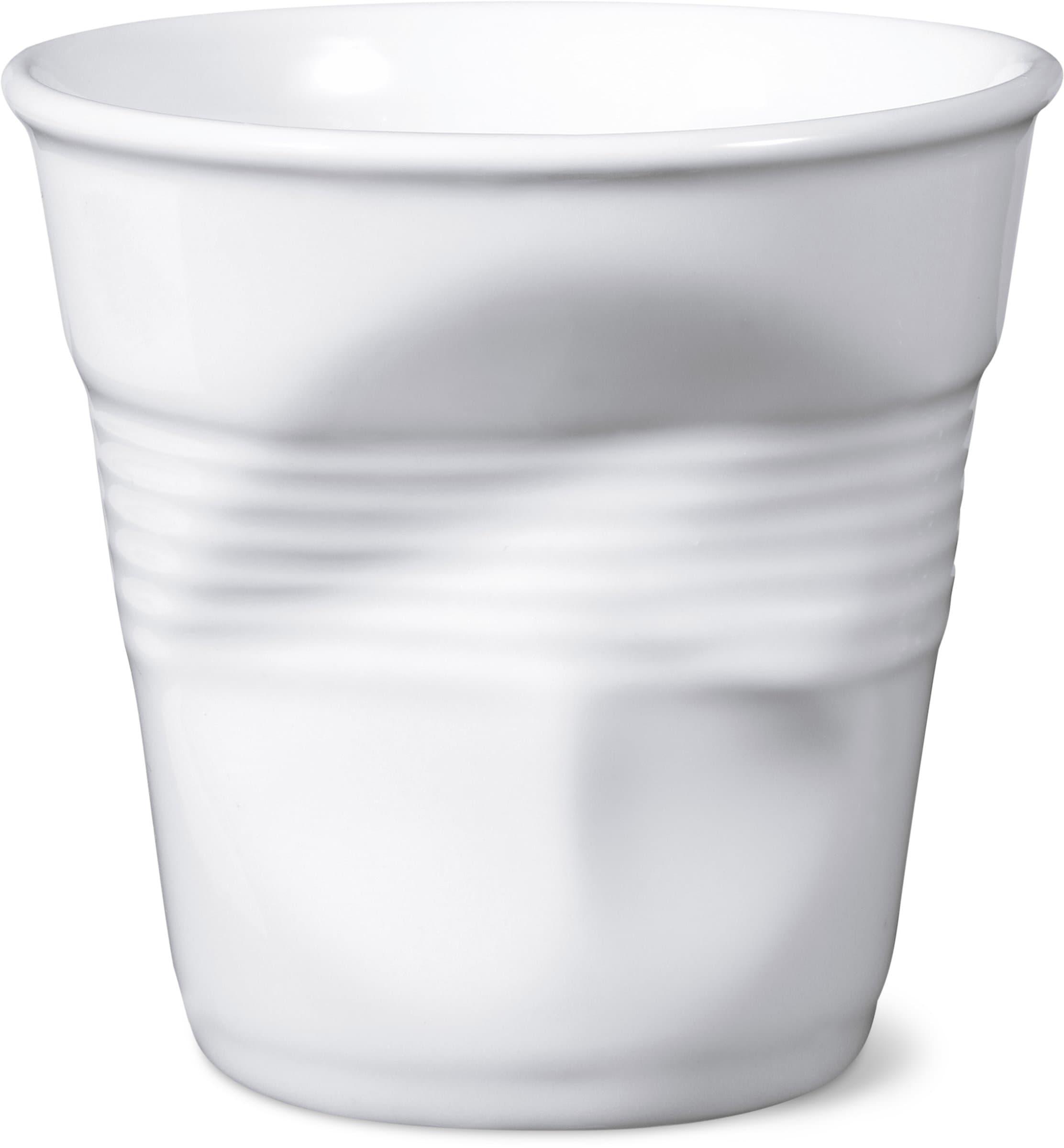 Revol REVOL Bicchiere con effeto accartocciato espresso