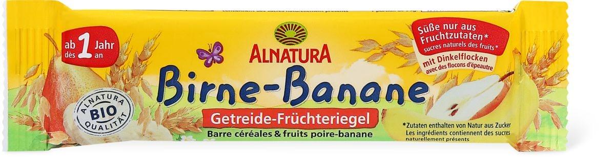 Alnatura Barre céréales & fruits poire-banane
