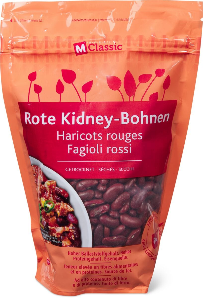 Kidney bohnen kalorien