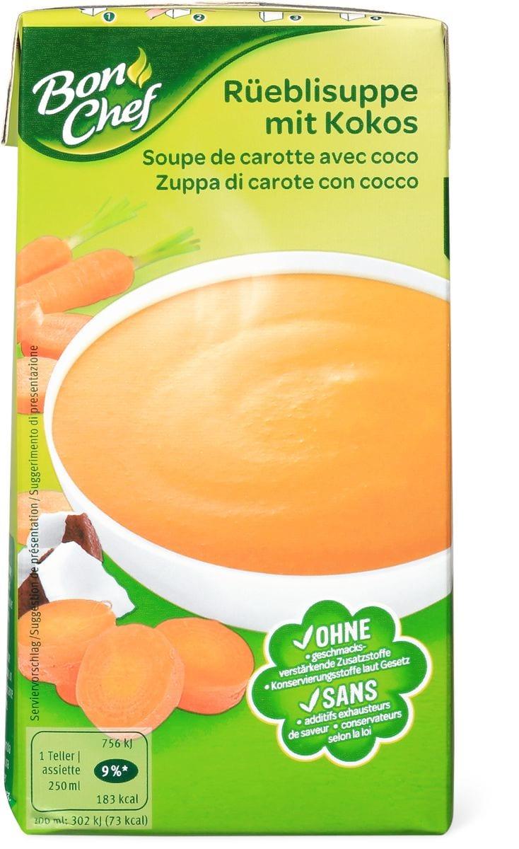 Bon Chef Soupe de carottes