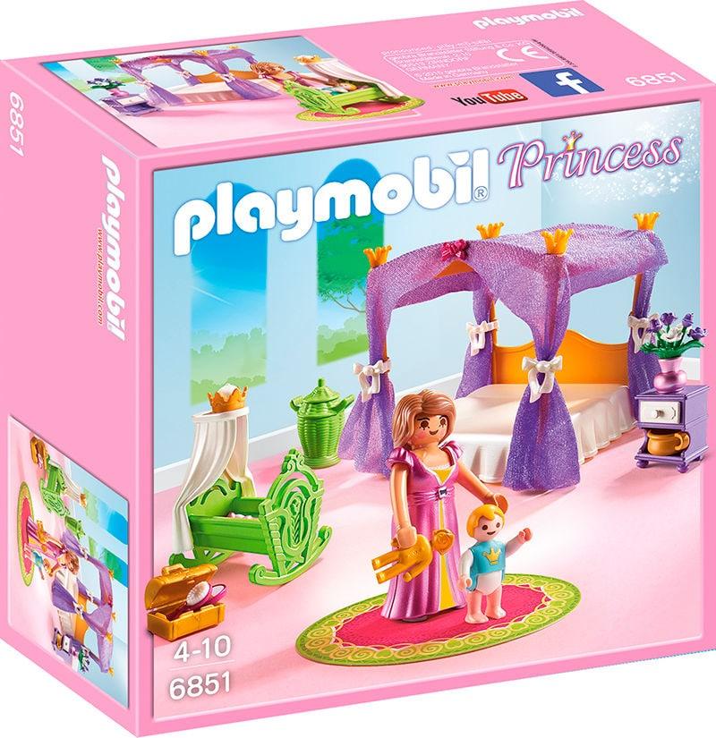 Playmobil Princess Chambre de la reine avec lit à baldaquin 6851