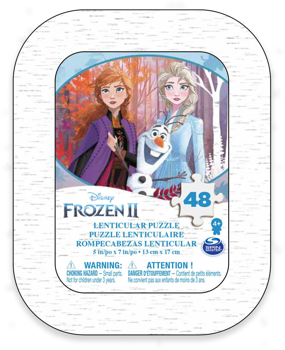 Spin Master Frozen 2 Puzzle 48 Charackter Puzzle