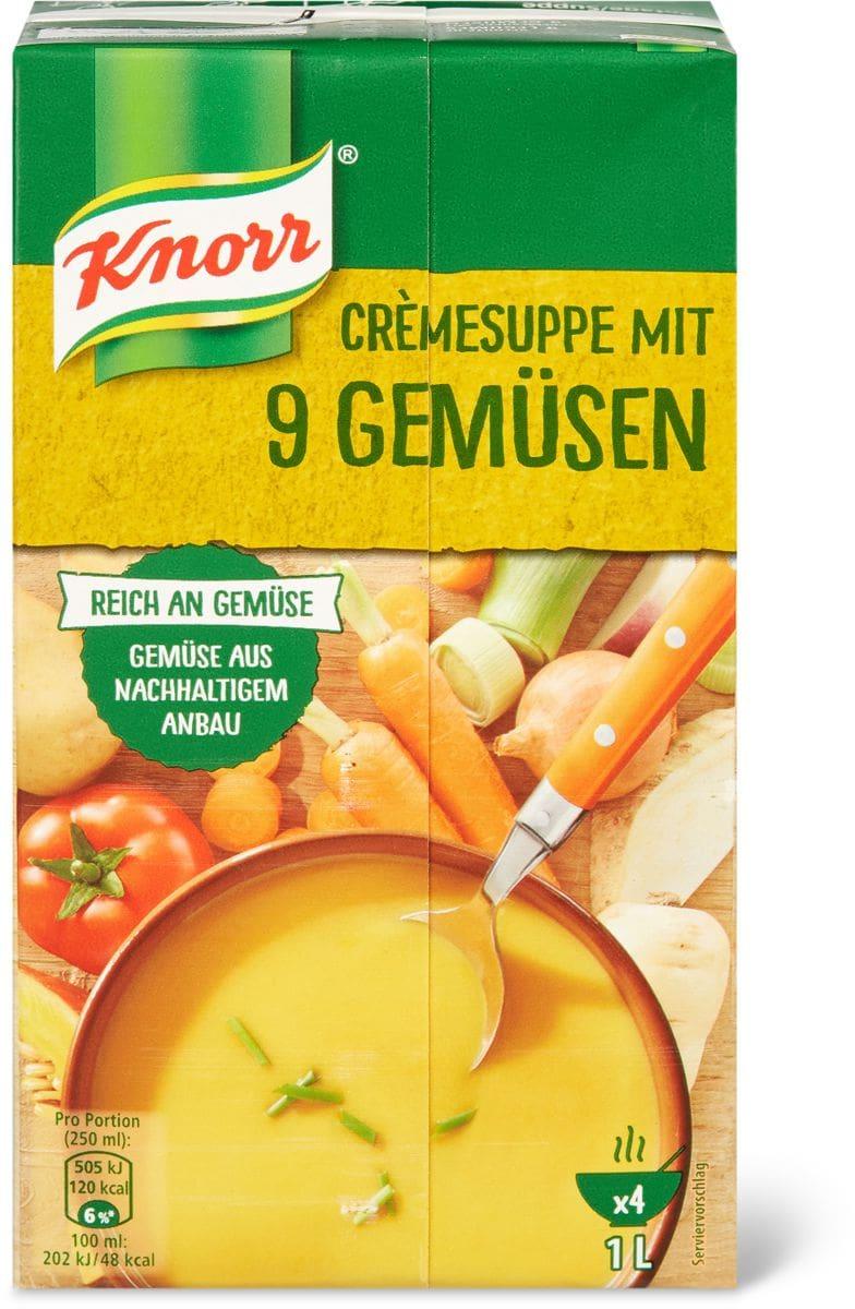 Knorr Potage aux 9 légumes