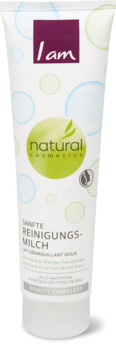 I am Natural Cosmetics beauty complete lait démaquillant doux
