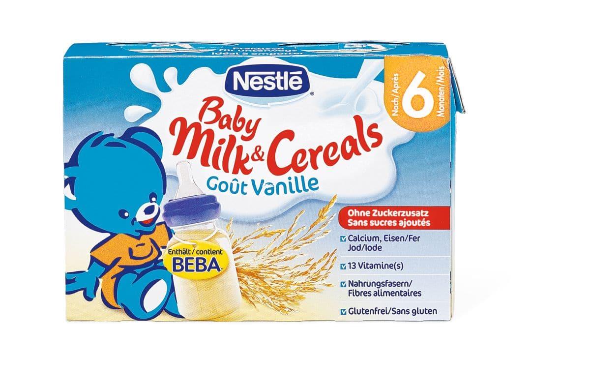 Nestlé Milk&Cereals Vanille
