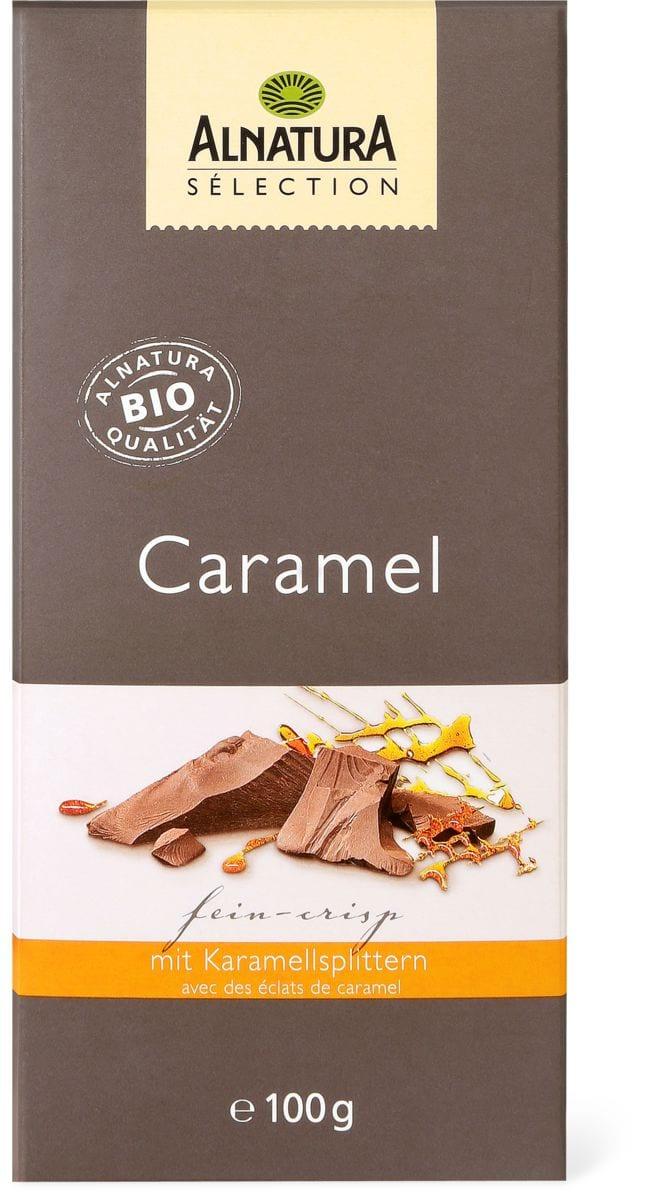 Alnatura Cioccolato caramello