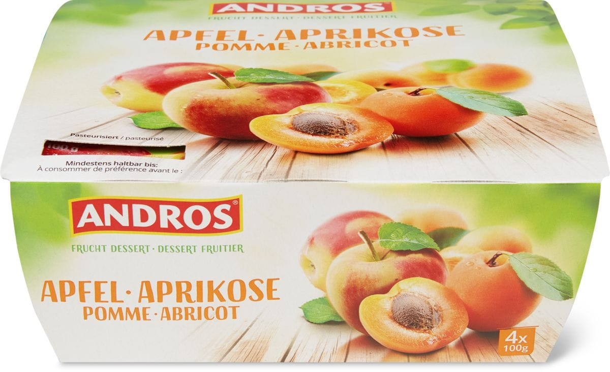 Andros pomme abricot