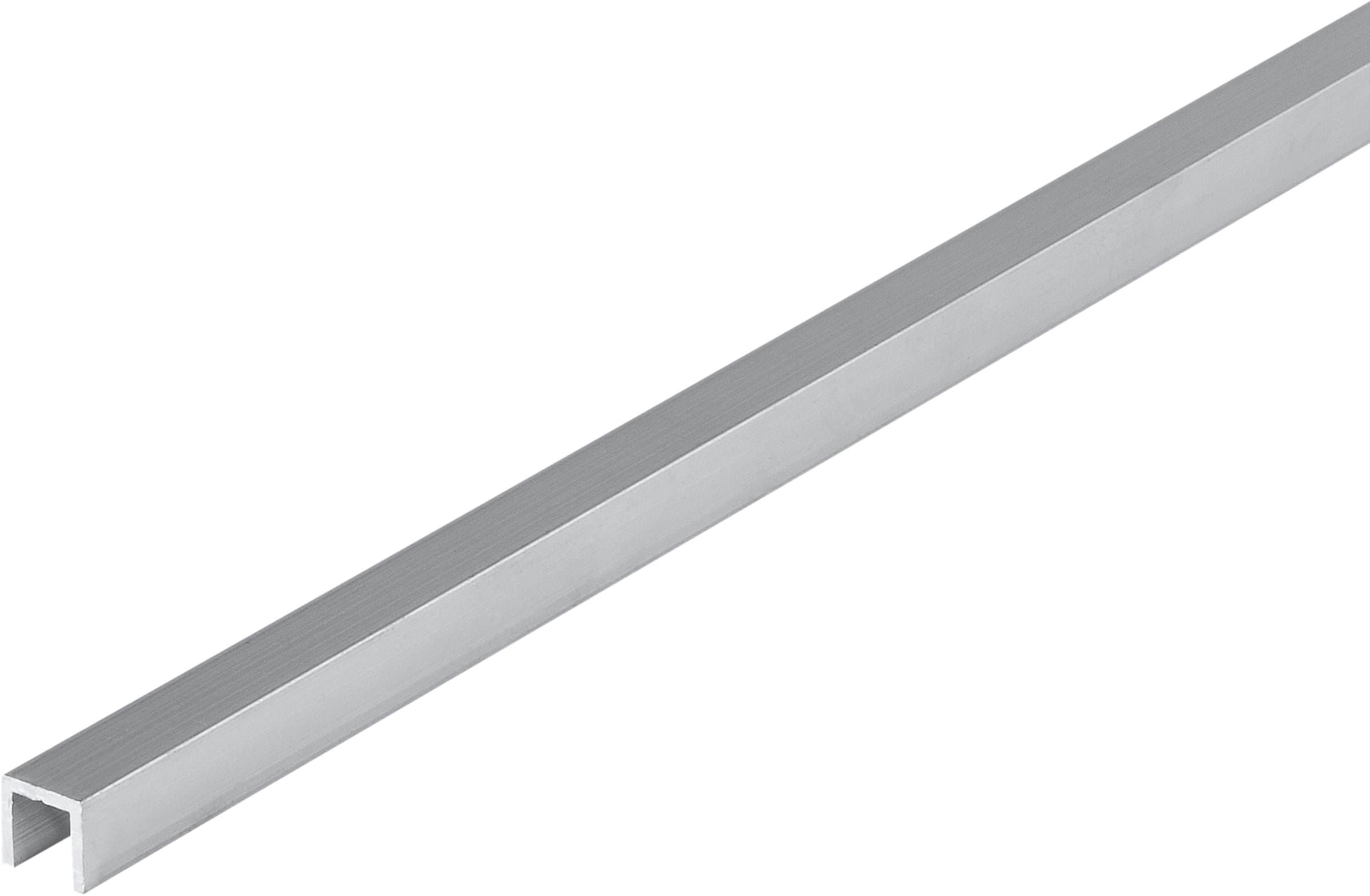 alfer Quadrat-U 1 x 7.5 mm blank 1 m