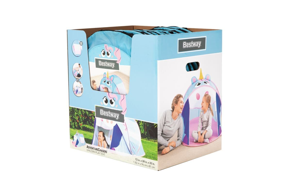 Bestway Pop Up Tent Unicorn Outdoor-Spielzeug