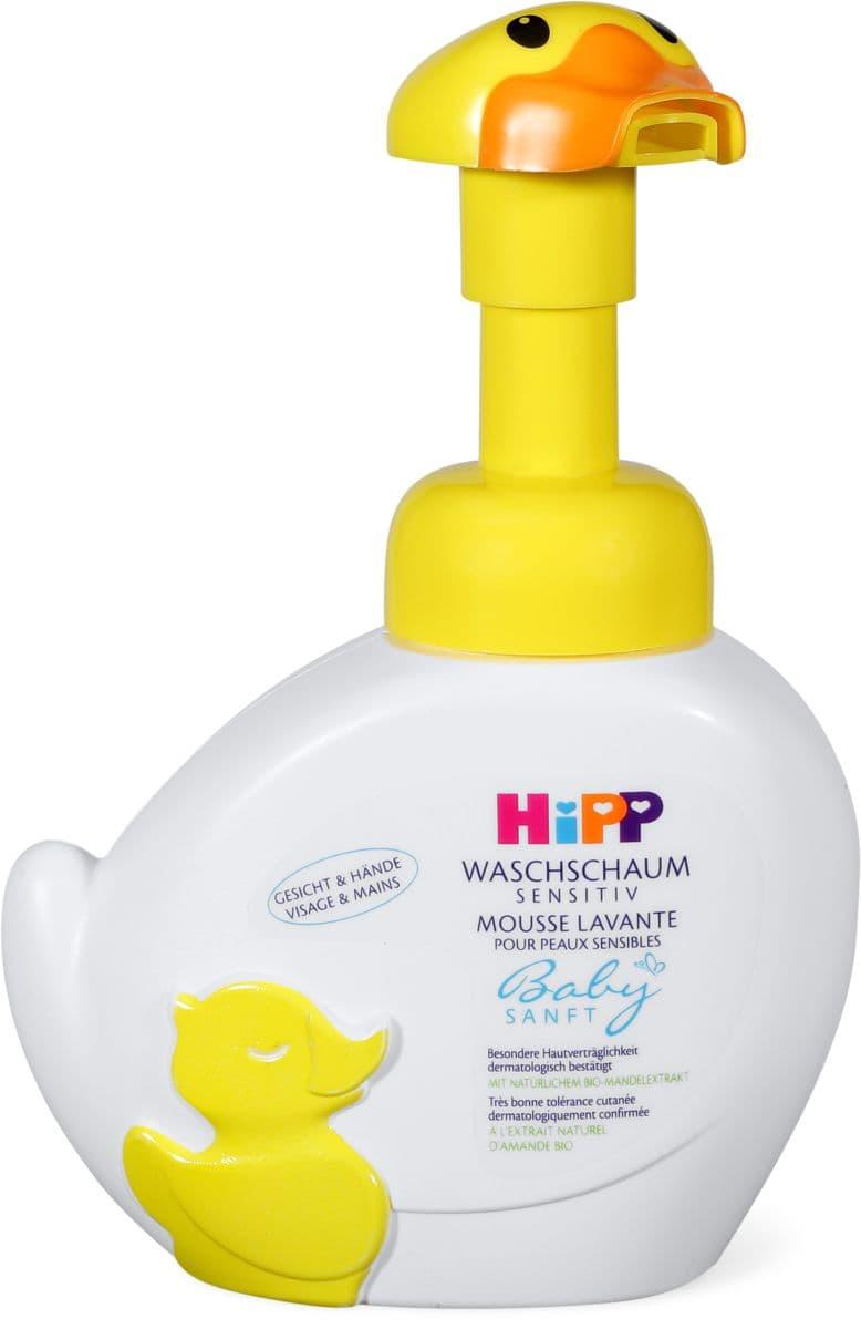 Hipp Babysanft mousse detergente