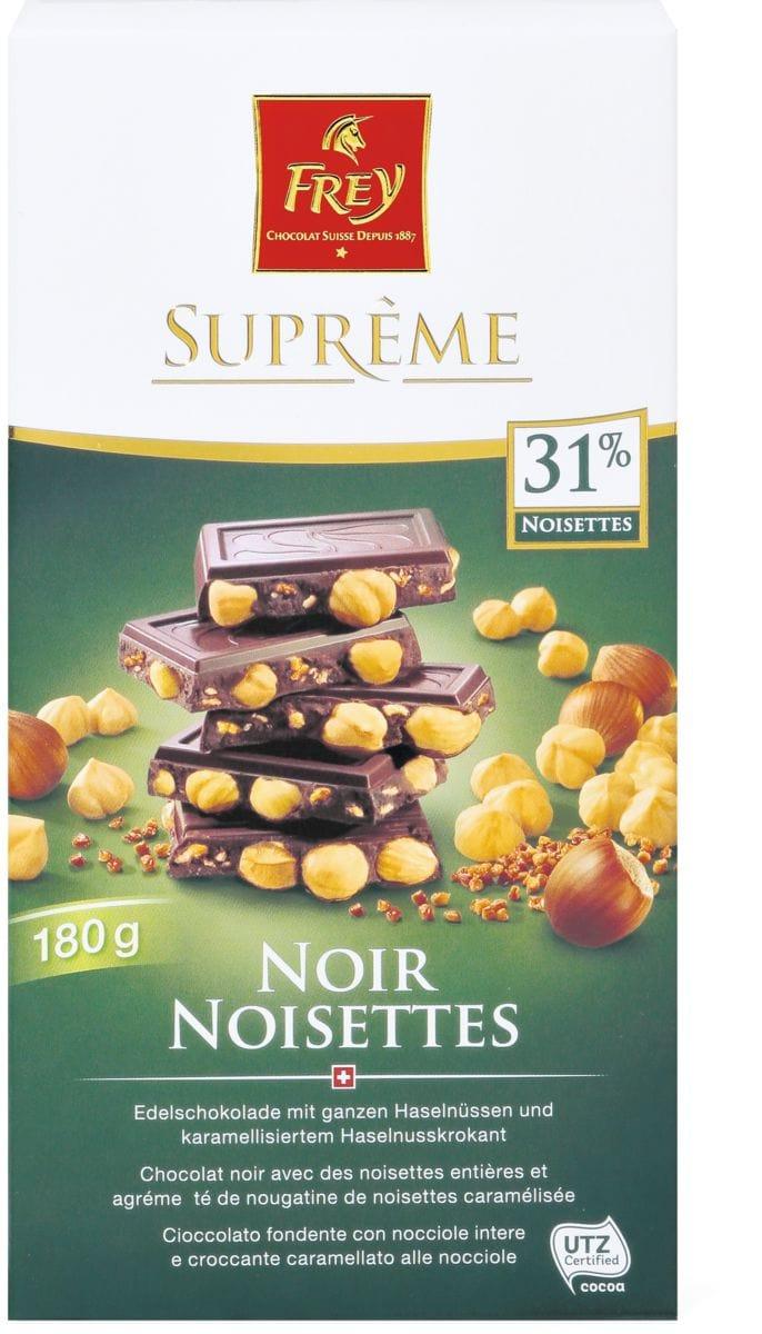 Suprême Noir/Noisettes
