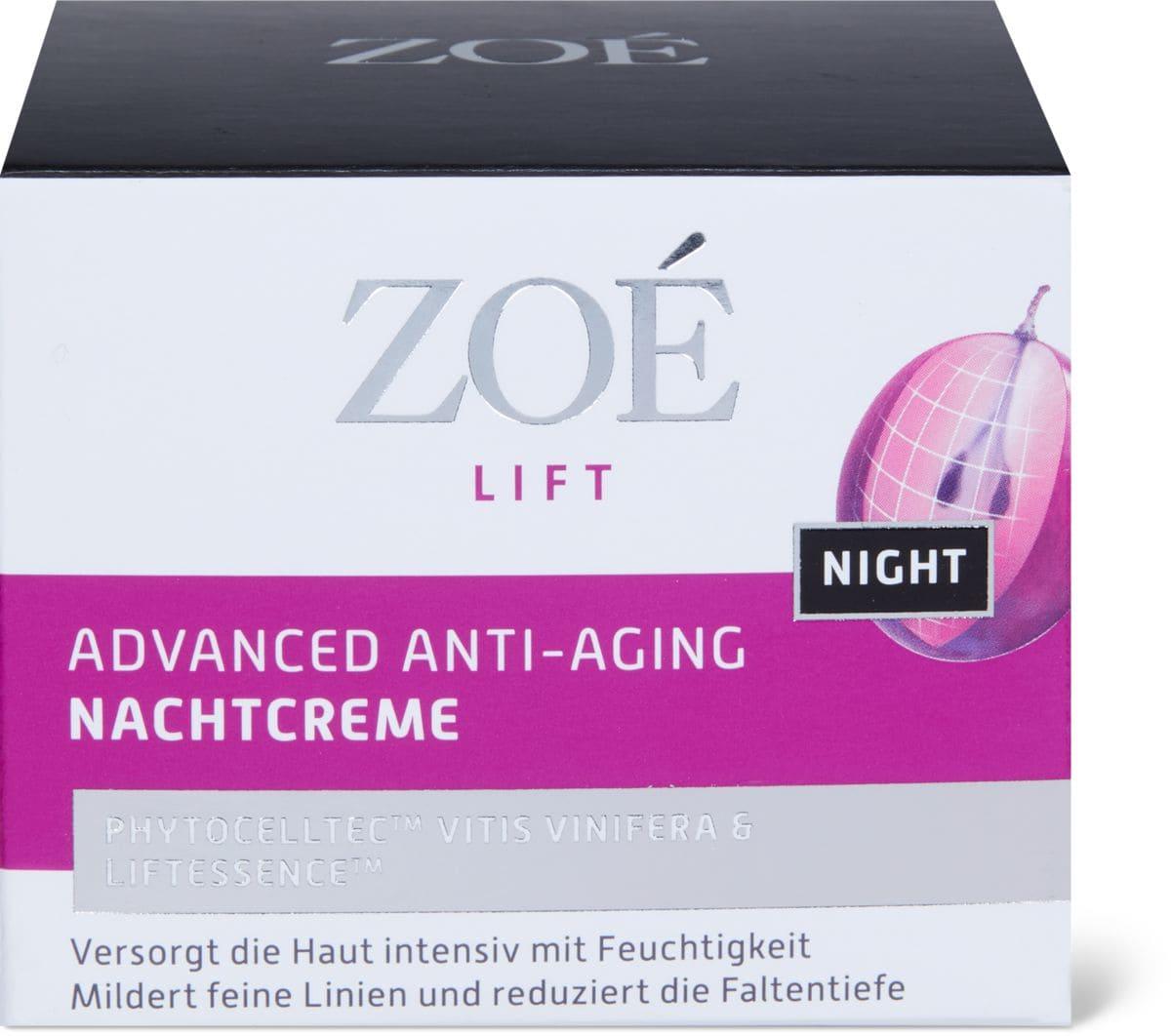 Zoé Lift Night Cream