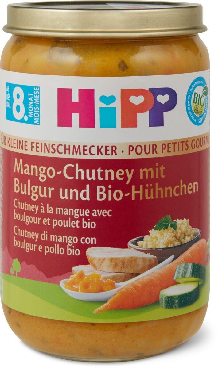 Hipp mango-chutney con bulgur pollo