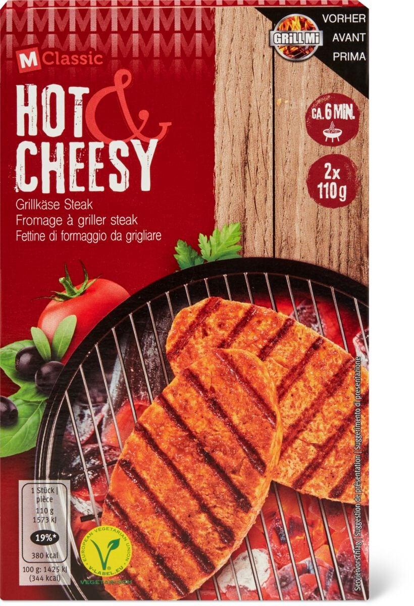 M-Classic Steak Hot & Cheesy