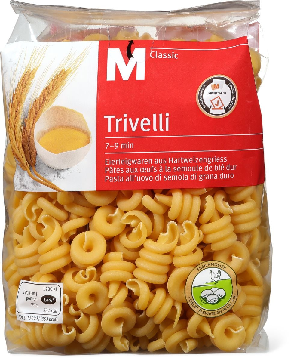 M-Classic Trivelli 5 oeufs