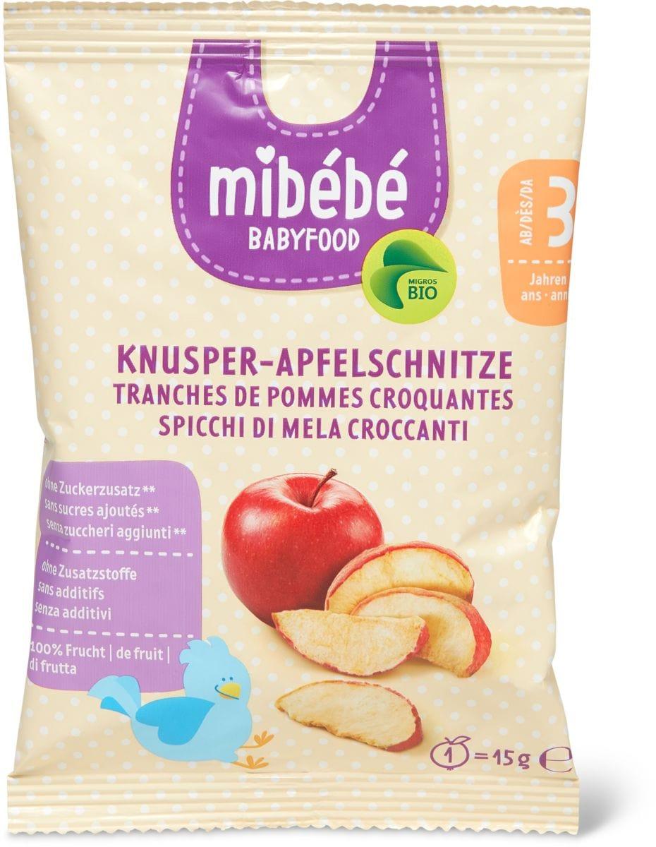Mibébé tranches de pommes croquantes