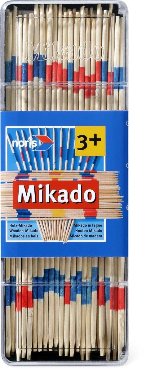 Noris Mikado 41 Stäbchen 180mm Gesellschaftsspiel