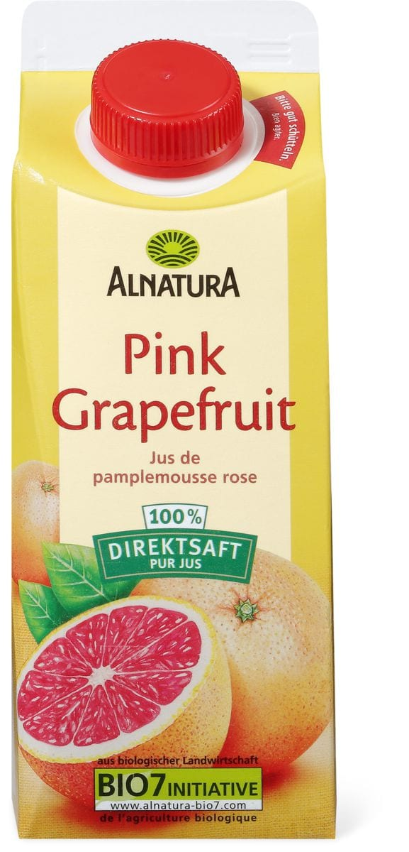 Alnatura Jus grapefruit rose