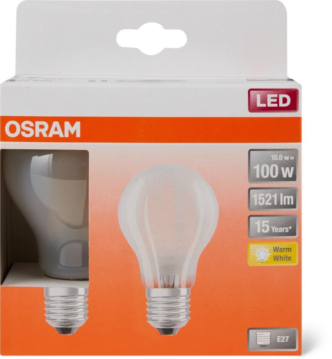 Osram LED Retrofit CLASSIC A100 2700K E27 DUO