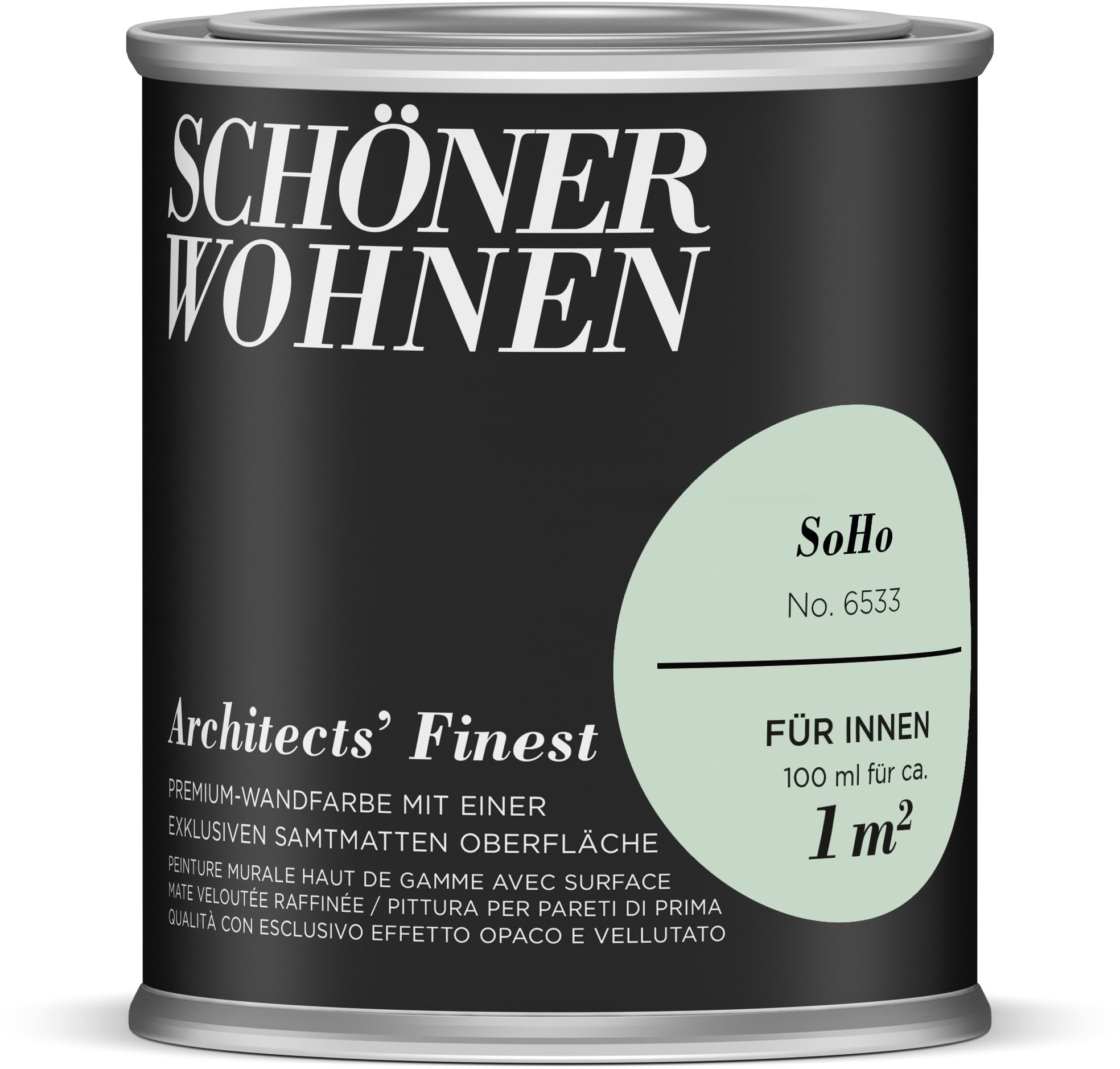 sch ner wohnen architects 39 finest 100 ml soho migros. Black Bedroom Furniture Sets. Home Design Ideas