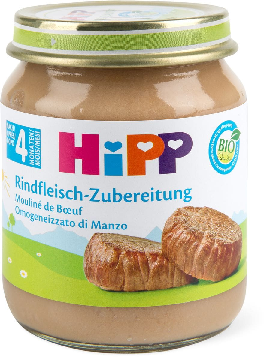 Bio HiPP Omogeneizzato manzo