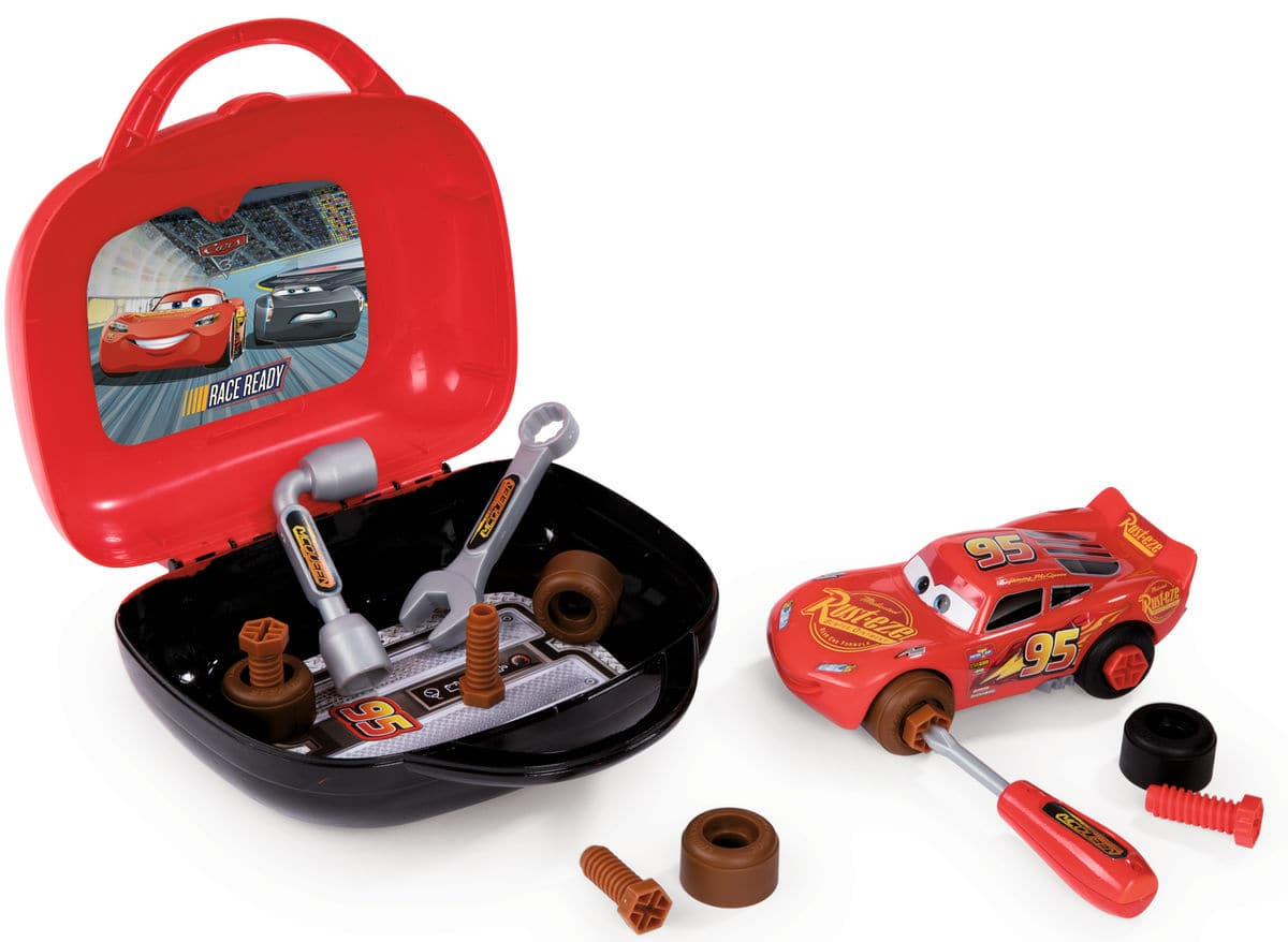 Smoby Cars 3 Malette de Bricolage