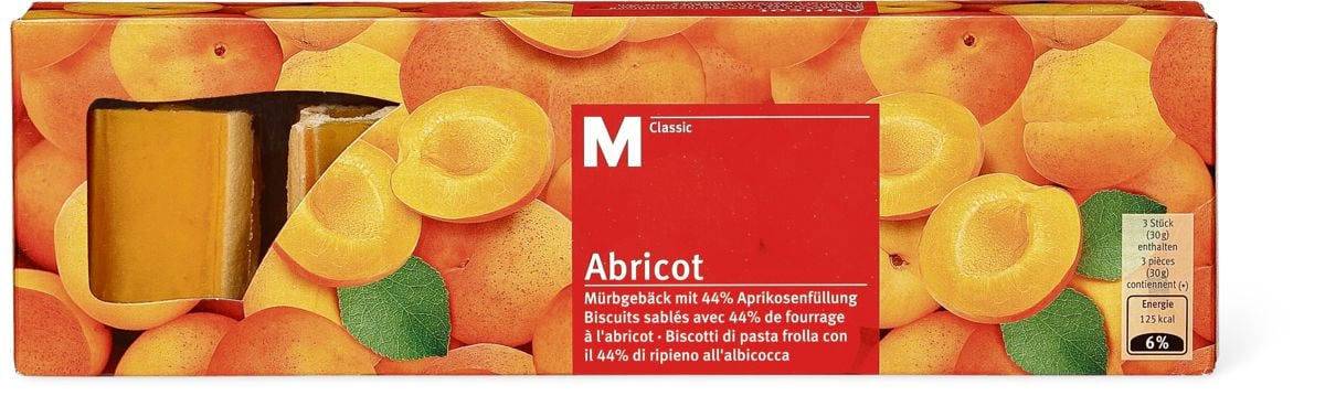 M-Classic Abricot biscuits
