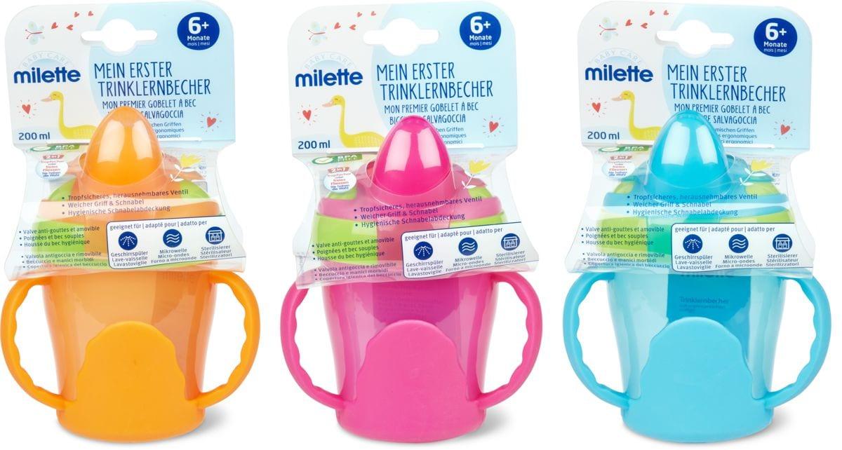 Milette Mein erster Trinklernbecher, 200 ml