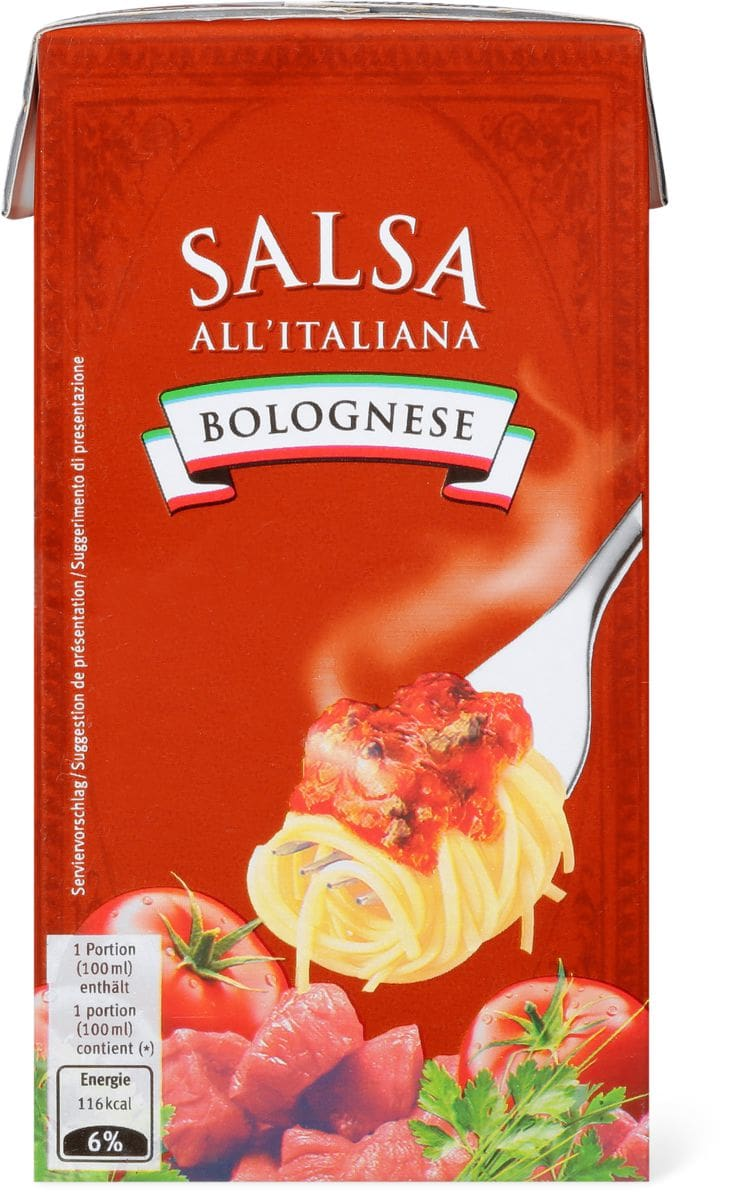 Salsa All'Italiana Bolognese