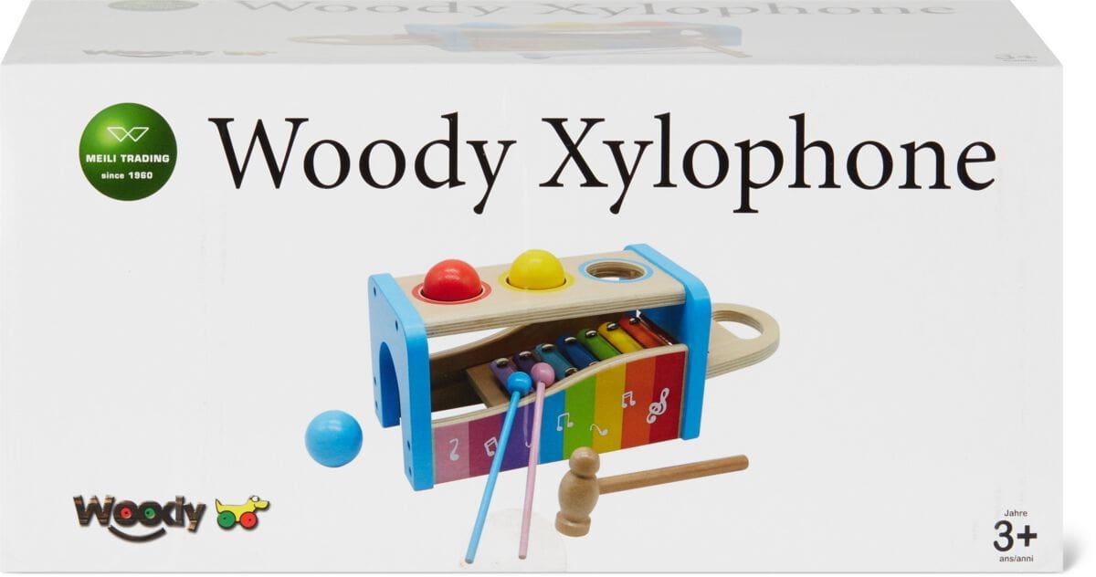 Woody Xylophon und Hammer Musik