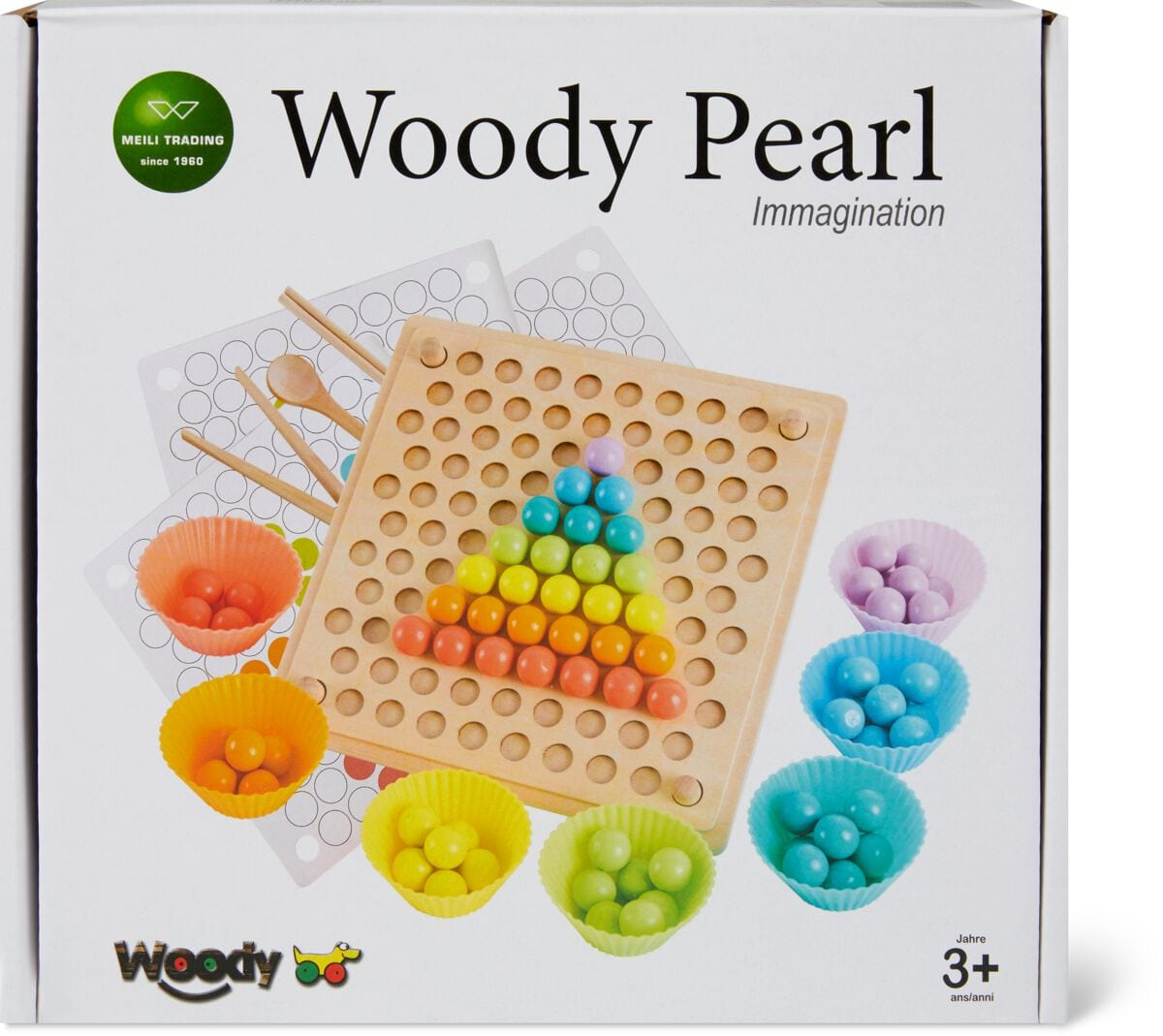 Woody Formen und Farben Gesellschaftsspiel