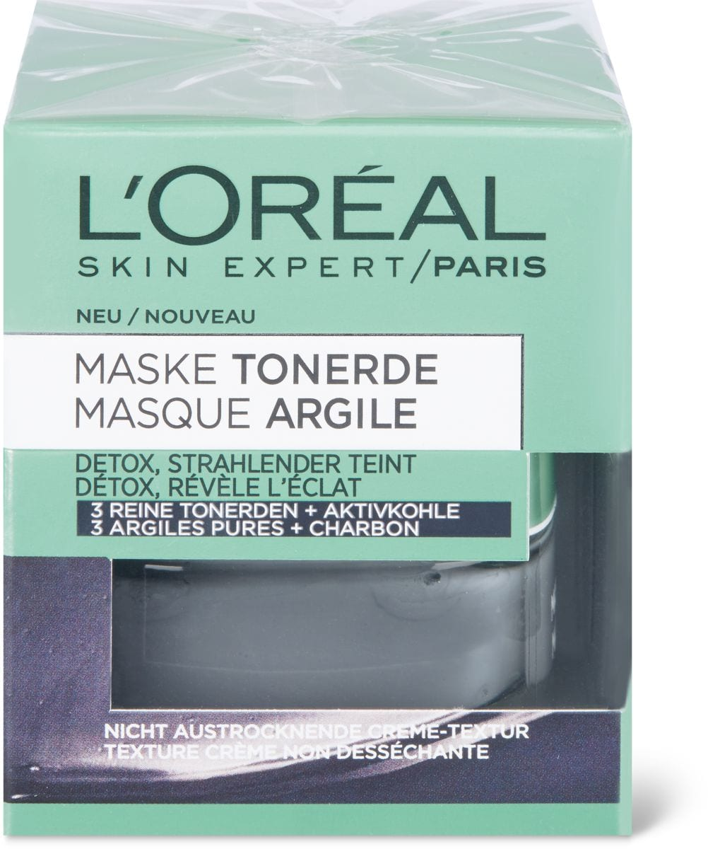 L'Oréal Clay Mask Charcoal