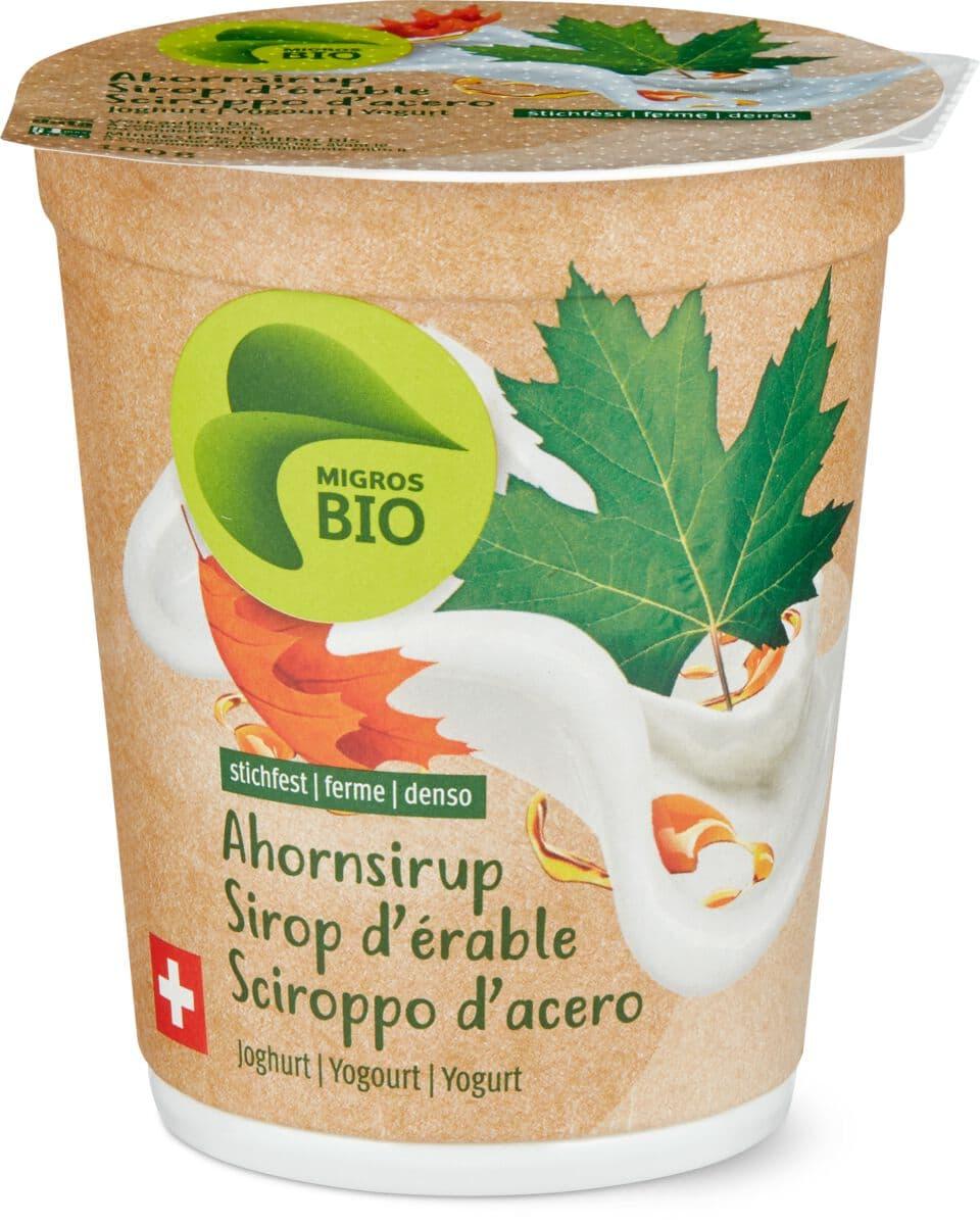 Bio Joghurt Ahornsirup stichfest