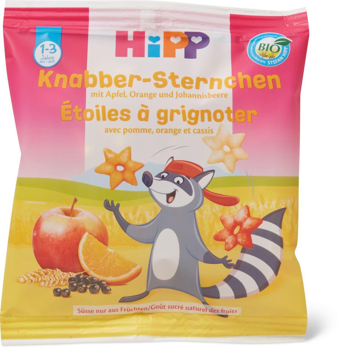 HiPP Stelline Bambini da sgranocchiare alla frutta