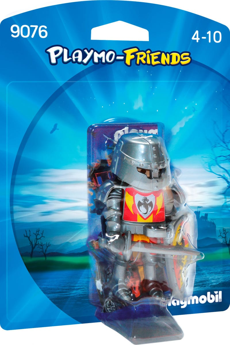Playmobil Playmo-Friends Chevalier du Dragon Noir 9076
