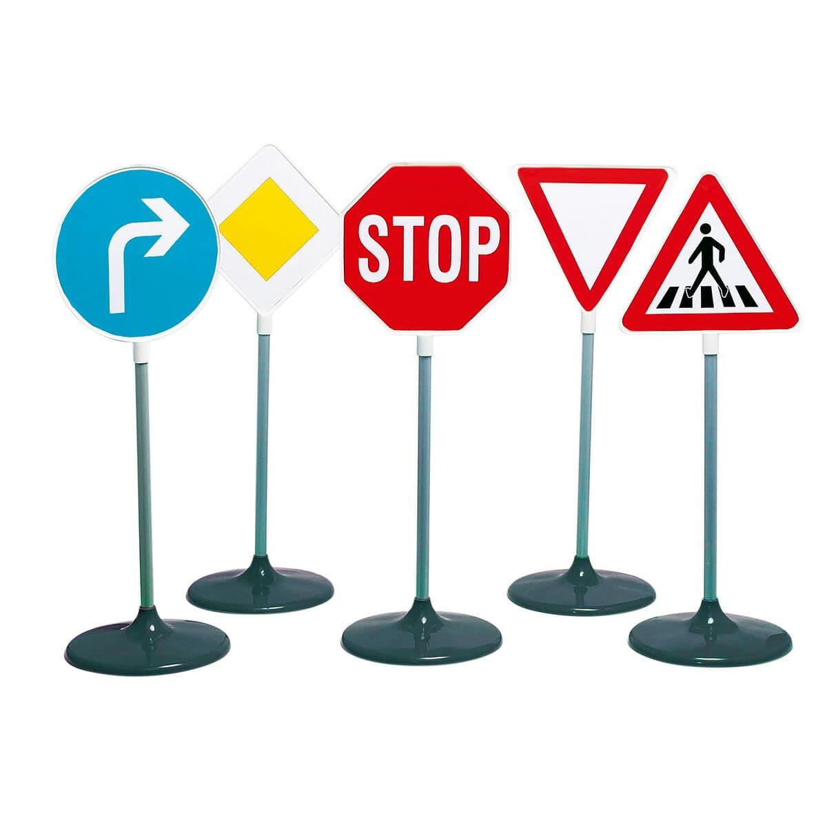 Theo Klein Traffic Signs 5pcs. Rollenspiel