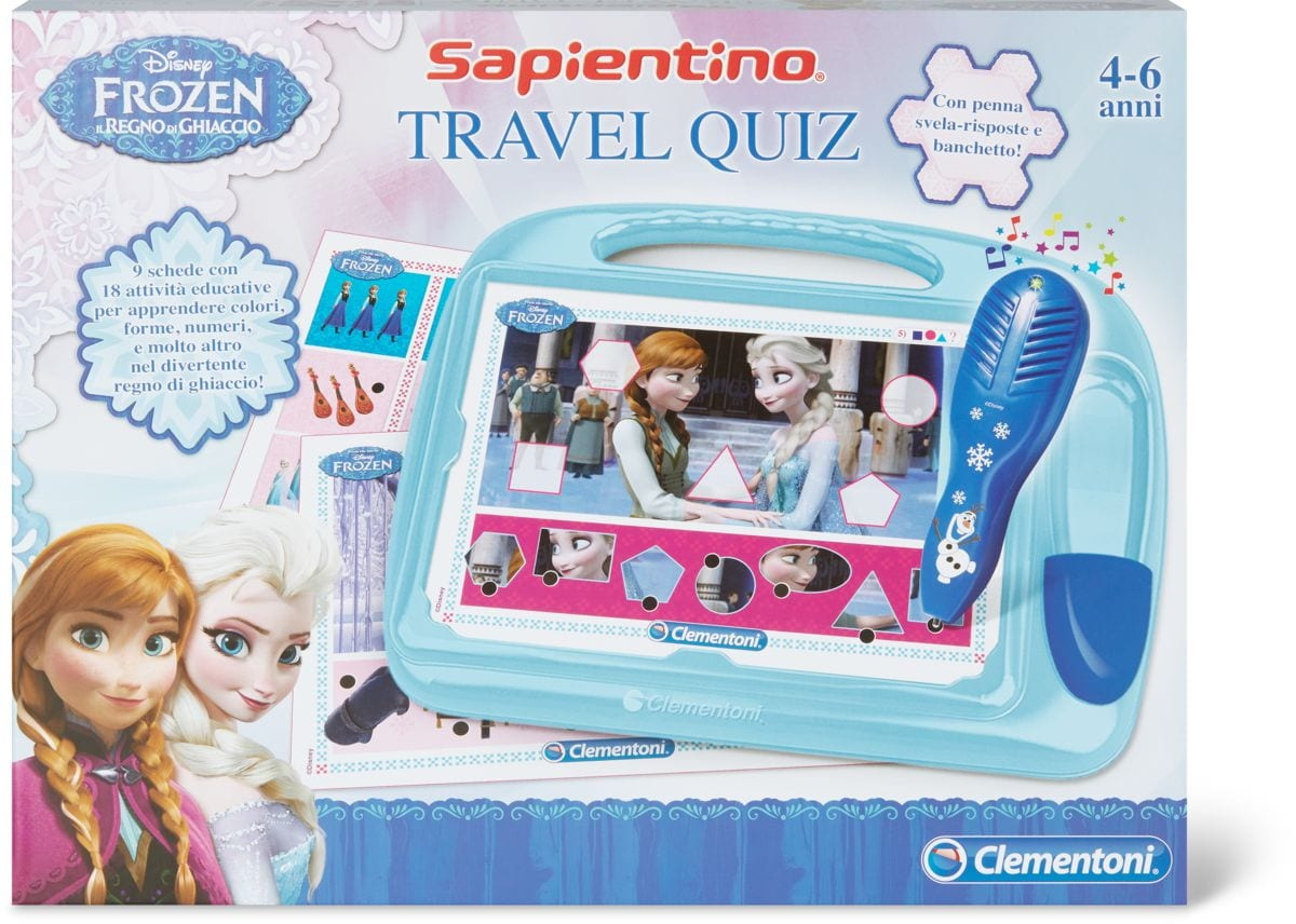 Sapientino travel Quiz Frozen (I)