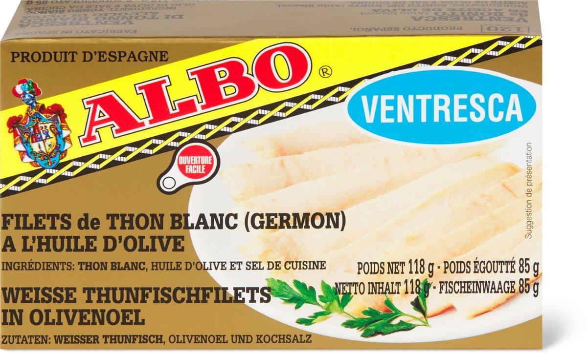 Albo Filets de thon blanc