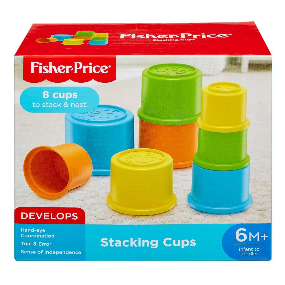Fisher-Price GCM79 Bunte Stapelbecher Lernspiel