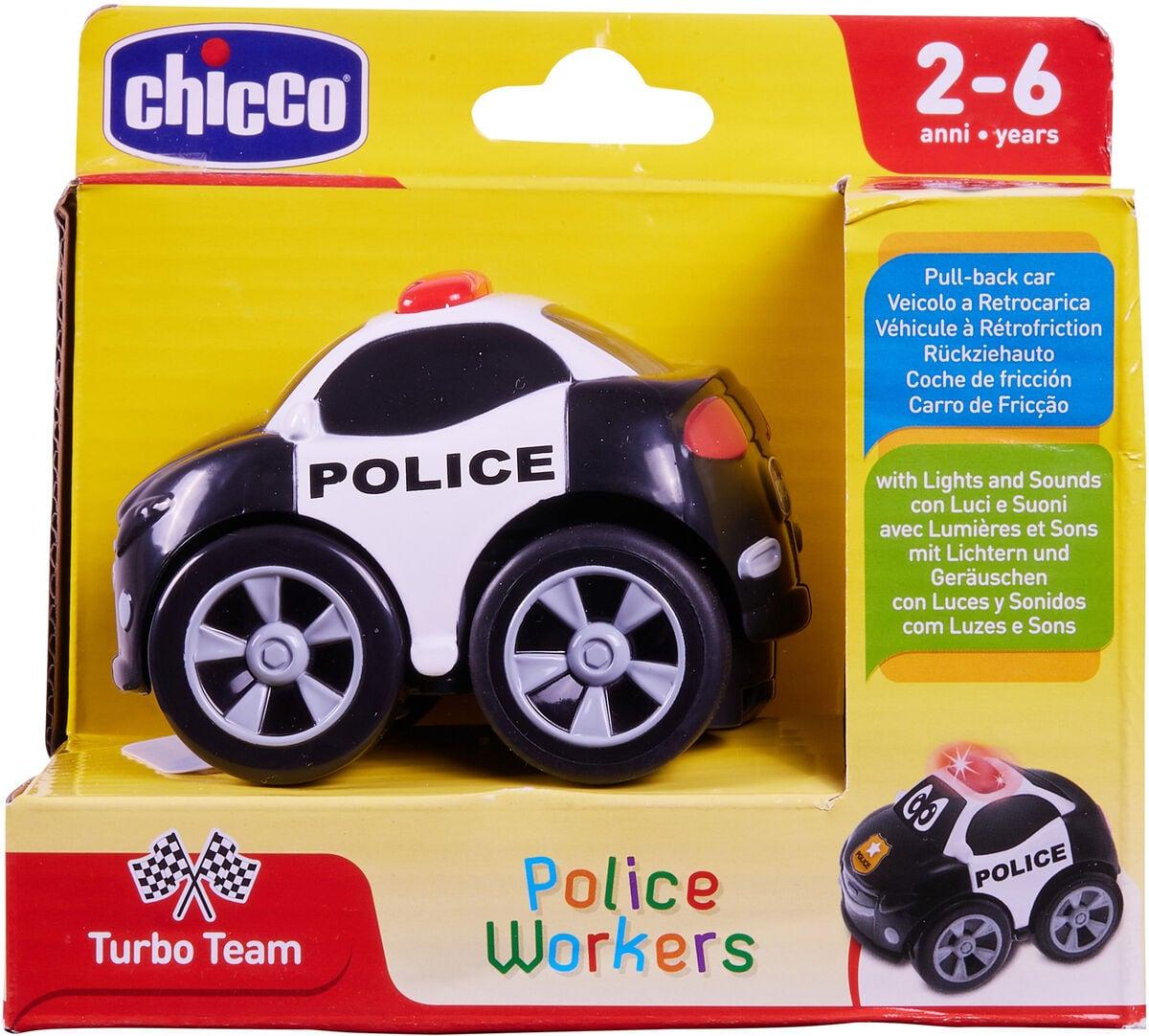 Chicco Charge & Drive RC Polizeiauto Spielfahrzeug