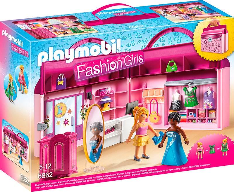PLAYMOBIL Boutique Portatile 6862