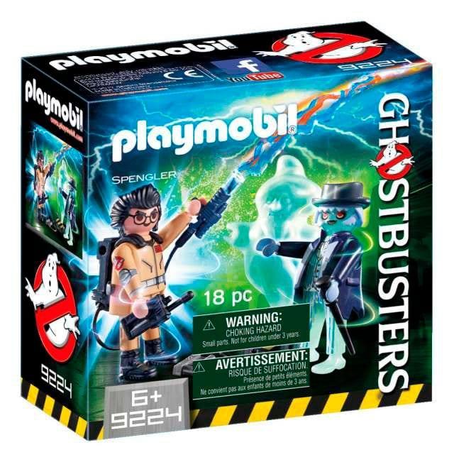 Playmobil Ghostbusters Spengler et fantôme 9224
