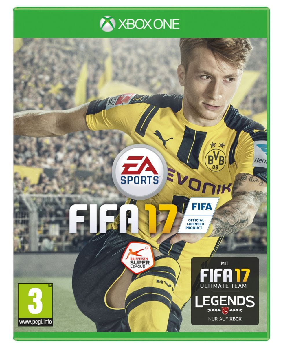 xbox one fifa 17 migros. Black Bedroom Furniture Sets. Home Design Ideas