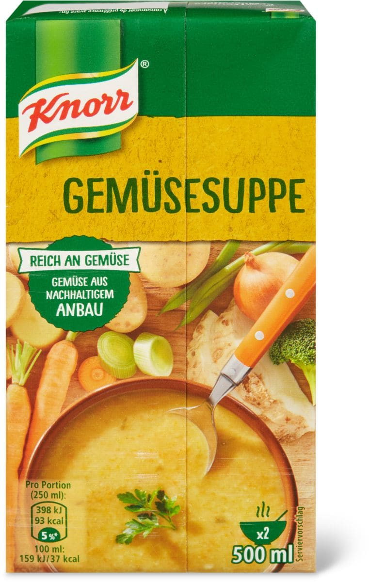 Knorr Potage aux légumes