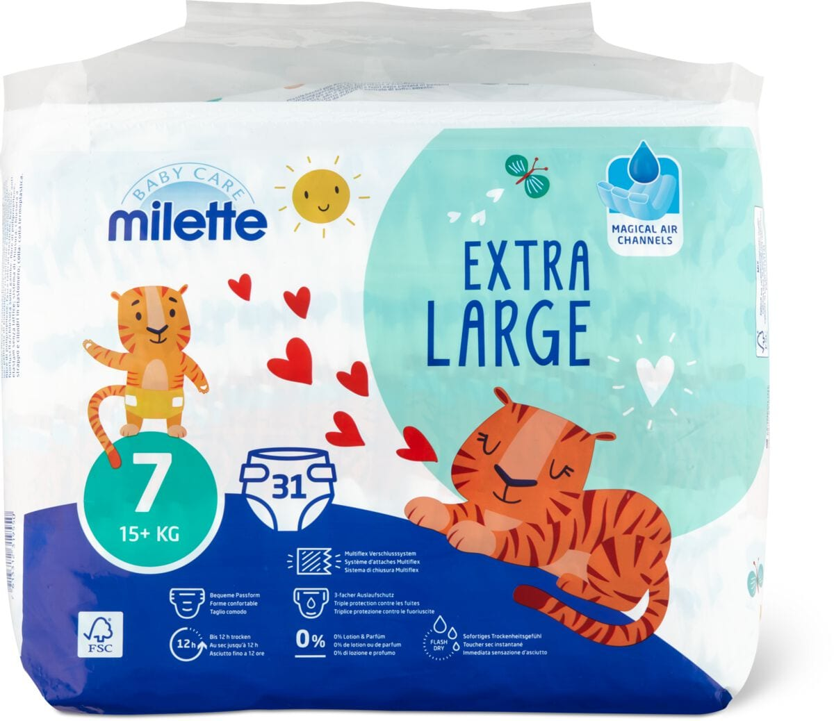 Milette Extra Large 7