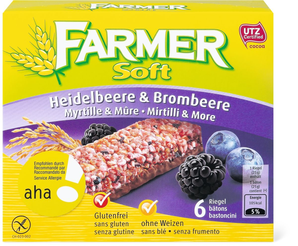 Aha! Farmer Soft Myrtille/mûre