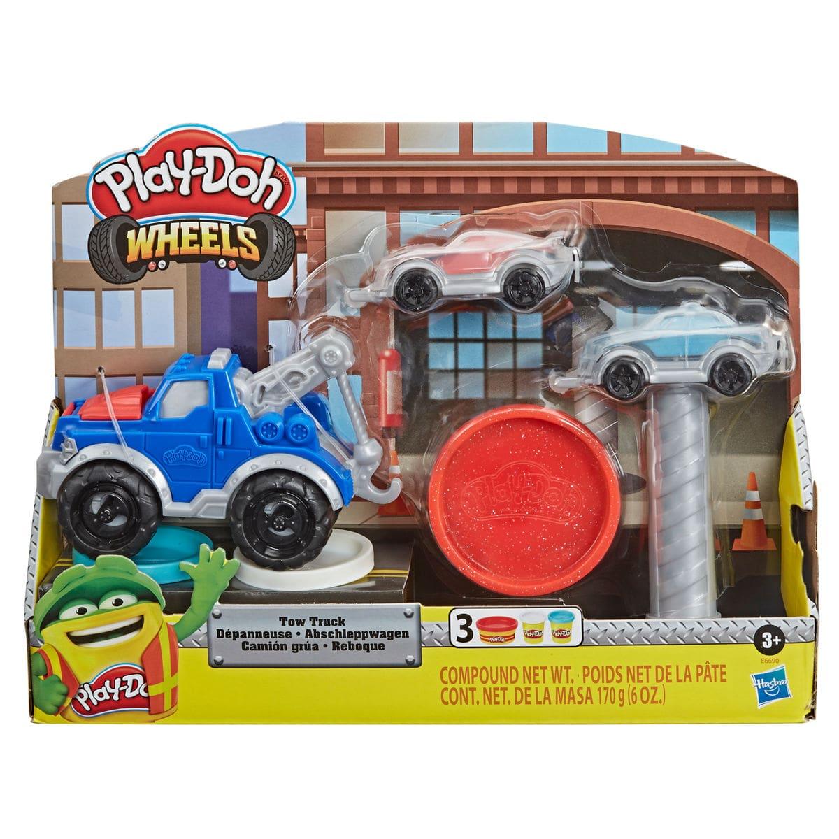 Play-Doh Abschlepper