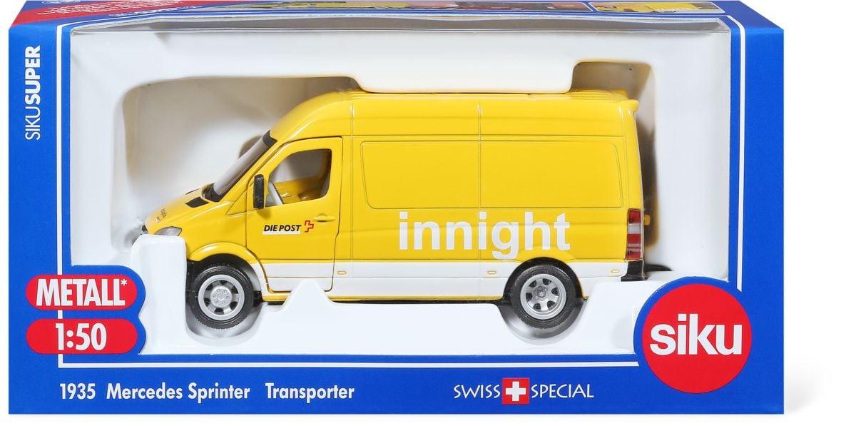 """Siku Mercedes-Sprinter """"Die Post"""" CH 1:50 Modellfahrzeug"""